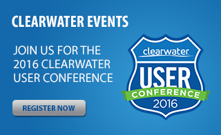 Clearwater Events - Join us for the 2016 Clearwater User Conference - Register Now