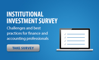 Institutional Investment Survey - Challenges and best practices for finance and accounting professionals.